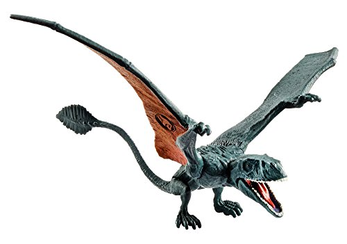 Jurassic World Conjunto de ataque Dimorphodon, dinosaurio de juguete (Mattel FVJ87)