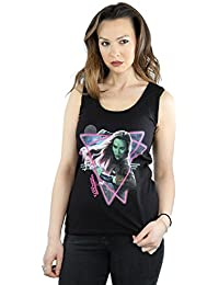 Marvel Femme Guardians of the Galaxy Neon Gamora Tank Top