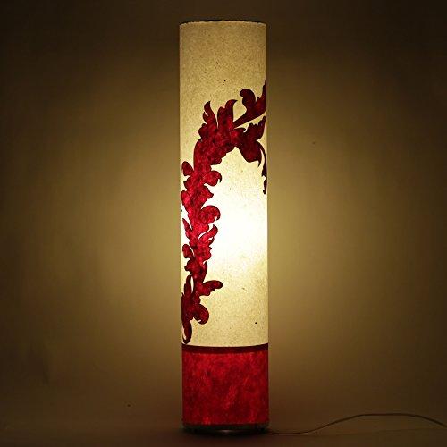 practicalities-handmade-paper-white-red-shade-bedroom-floor-lamp-home-night-light
