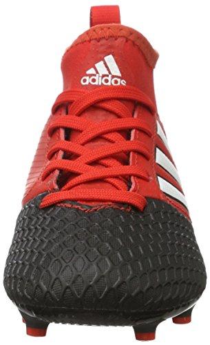 adidas Ace 17.3 Fg J, Scarpe da Calcio Unisex – Bambini Rosso (Red/ftwr White/core Black)