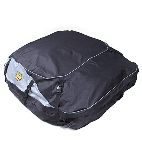 OLDF Dachtasche, Rooftop Cargo Carrier Bag Wasserproof Gepäckträger Fit for Cars mit Racks Car Soft-Shell Carriers,L -