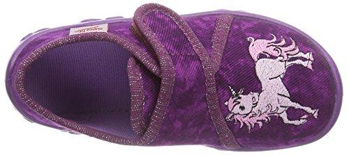Superfit BONNY 500258  Mädchen Flache Hausschuhe Violett (MAGIC 40)