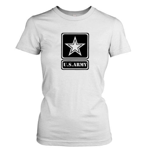 TEXLAB - U.S. Army - Damen T-Shirt Weiß