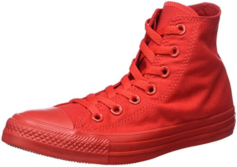 Converse Unisex Erwachsene Monocrome All Star Hi Hohe Sneaker  Grün  36 EU