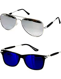 45ecd66dba Younky Discount Offer On Combo of Stylish Aviator Mercury Sunglasses for Men  Women Boys   Girls
