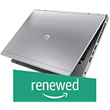 (Renewed) HP Elitebook 8470p-i5-4 GB-120 GB 14-inch Laptop (3rd Gen Core i5/4GB/120GB SSD/Windows 7/Integrated Graphics), Silver