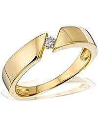 Goldmaid Damen-Ring 585 Gelbgold 1 Brillant So R524GG