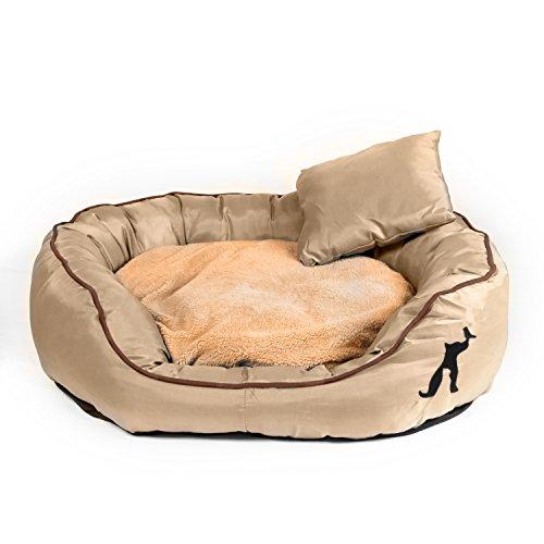 pet-paradise-tierbett-victor-mit-wendekissen-zusatzlichem-kissen-fur-hund-katze-beige-l-90x70x25cm