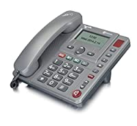 Amplicomms PowerTel 96 MEGA Amplified Big Button Corded Home Phone