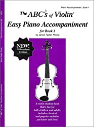 The ABC's of Violin Easy Piano Accompaniment for Book 1