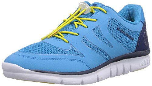 s.Oliver 23606, Sneakers Basses femme Turquoise - Türkis (Turquoise 796)