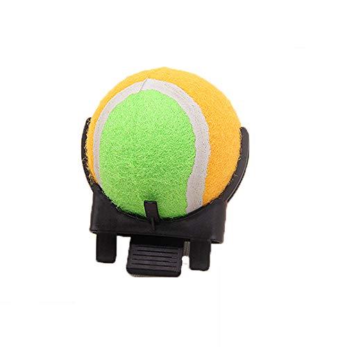 NaiCasy Haustiere Selfie Stock-Ball-Telefon-Halter für Hund Zug Fotos - 9 cm Durchmesser der Kugel, Haustierprodukte für Hunde (Raum Kostüme Bälle)