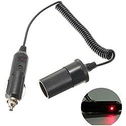 XtremeAuto® Lighter/ Aux Socket or Plug 12 Volt (CIGARETTE LIGHTER SOCKET EXTENSION LEAD)