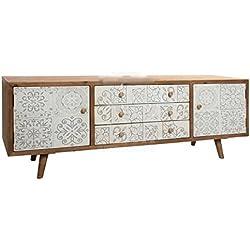 Aparador ideal como mueble televisión, estilo nórdico, vintage.