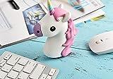 PRECORN Emoji Powerbank 2600mAh Ladegerät Einhorn Unicorn kompatibel mit Iphone Tablet Samsung uvm.