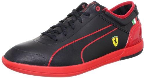 Puma FERRARI MENS DRIVING POWER LIGHT Schwarz Herren Sneakers Schuhe Ortholite Neu (Puma Herren Schuhe Ferrari)