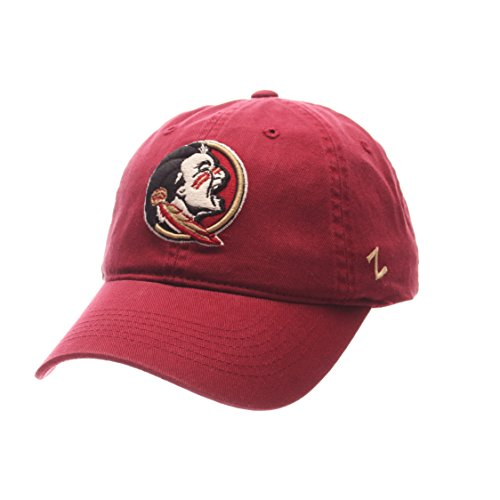 Zephyr Scholarship Relaxed Fit Dad Hat-NCAA Eine Größe Verstellbar Baseball Cap, Florida State Seminoles (Seminoles Florida Hat State)