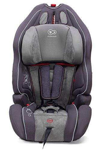 Kinderkraft Smart Up Kinderautositz Autokindersitz Kindersitz 9 bis 36 kg Gruppe 1 2 3 Dunkelgrau