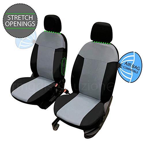 rmg-distribuzione Coprisedili per Duster Versione (2018 - in Poi) compatibili con sedili con airbag, bracciolo Laterale, sedili Posteriori sdoppiabili R35S0146