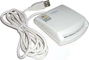 Cablematic - Lecteur carte à puce PC/SC EMV ISO-7816 USB externe EZ100PU
