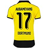 PUMA Kinder Trikot BVB Home Replica Shirt with Sponsor