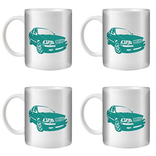 stuff4-tazza-di-caffe-te-350ml-4-pack-turchese-volvo-s40-t4-ceramica-bianca-st10