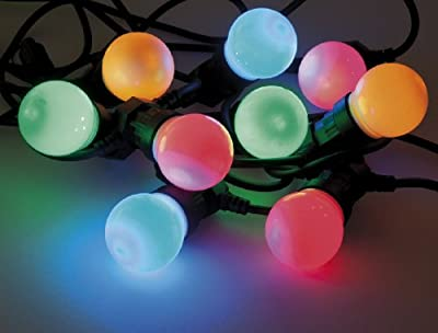 Heitronic LED Party Lichterkette 20-teilig mit 20 farbigen LED's von Heitronic - Lampenhans.de