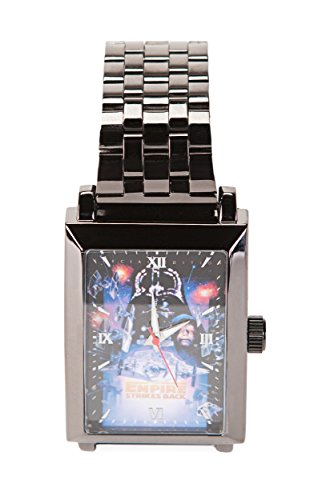 Star Wars Vol. 2 The Empire Strikes Back Square Frame Metal Armbanduhr