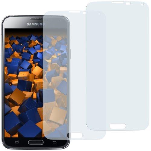 mumbi Schutzfolie kompatibel mit Samsung Galaxy S5 Folie, Galaxy S5 Neo Folie klar, Bildschirmschutzfolie (2x)