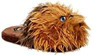 Star Wars Chewbacca Men's 3D Character Plush Slip