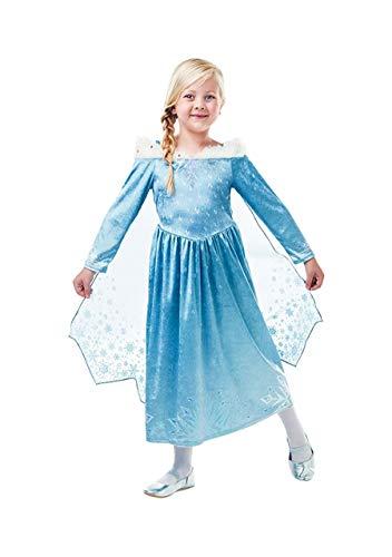 Frozen-Elsa Deluxe Kostüm Kinder (Rubie 's Spain) - Frozen Kostüm S