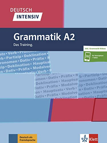 Deutsch intensiv Grammatik A2: Das Training. Buch + online