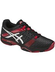 Asics , Chaussures de squash pour homme Black/ Red/ White