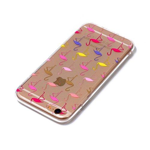 Cover iPhone 6/ 6s, Sportfun morbido protettiva TPU Custodia Case in silicone per iPhone 6/ 6s (modello 11) modello 7