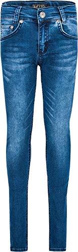 Blue Effect Jungen 2725-Super Slim, Ultrastretch Jeans, Blau (Medium Blue 9698), Herstellergröße:158