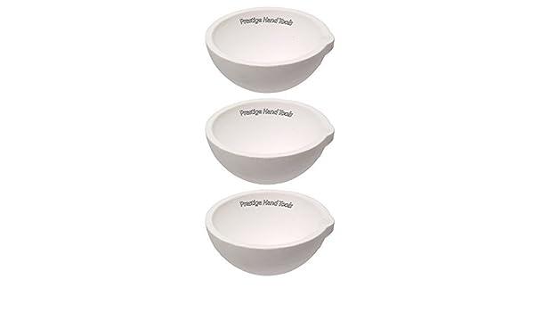 2 x smelting Dishes Ceramic Bowls 100g /& 500g Prestige 2 x Whip tong holder