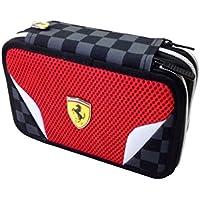 Scuderia Ferrari Trousse 2compartiments porte stylos/crayons 58238 UThwEI