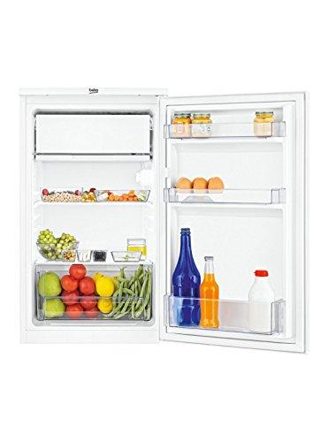 Beko TS190320 Kühlschrank / A+ / 82 cm / 88 l Kühlteil / MinFrost / Gemüseschublade / Automatische Abtauung / Weiß