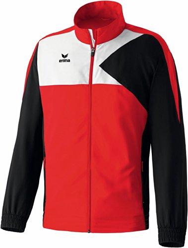 erima Kinder Anzug Premium One Präsentationsjacke Rot/Schwarz/Weiß 128 Preisvergleich