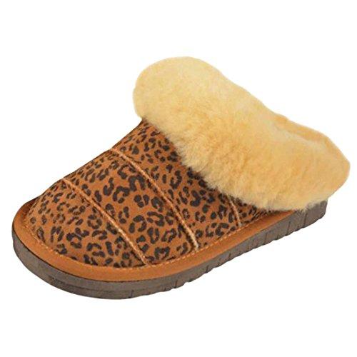 Hommes Imitation Peau De Mouton Chaussons Slip On Chaussures Doublees En Polaire Chaud Antiderapant Sipper Style de 8