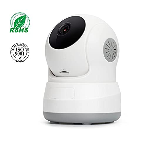 Wireless IP Camera, Elebor Pan/Tilt 720P HD Night Vision Remote Baby Mini Home Camera Surveillance Camera for Security System, Video Baby Monitor, Two-Way Audio, Motion Detection