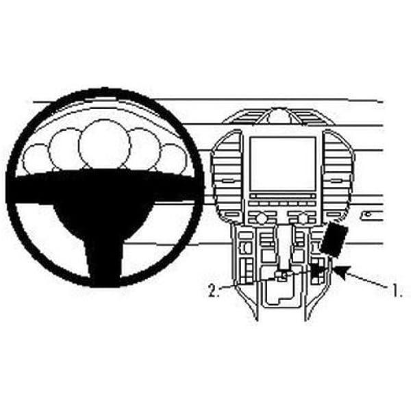 Brodit 854538 Proclip Halterung Schwarz Elektronik