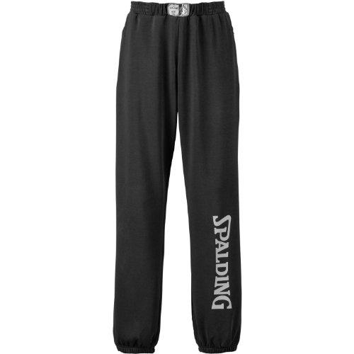Spalding Team Long Pants - Trainingshose, Size:XS;Color:schwarz/silbergrau