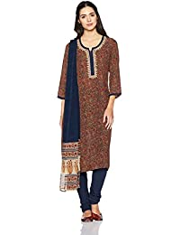 BIBA Women's Straight Salwar Suit