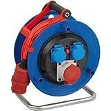 Brennenstuhl Kabeltrommel Garant CEE 1 IP44 3-fach 25m AT-N07V3V3-F 5G1,5 Kabelfarbe rot