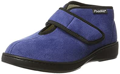 Podo Well Donuts, Chaussons Montants Mixte Adulte, Blau (Jean), 46 EU
