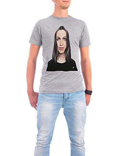 """Design T-Shirt Männer Continental Cotton """"Alanis Morissette"""" - stylisches Shirt Musik von Rob Snow Grau"""