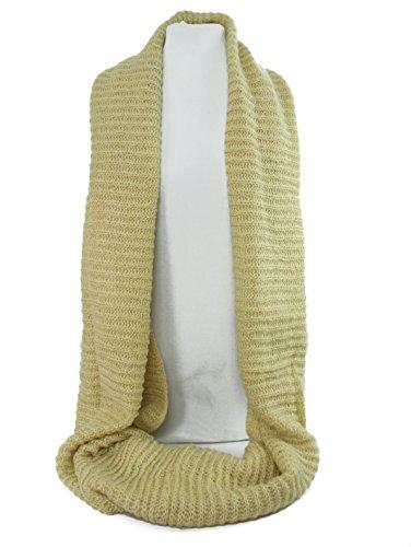 GFM Fastglas Infinity Écharpe tour de cou pour femme avec fermeture Velcro Beige - Beige