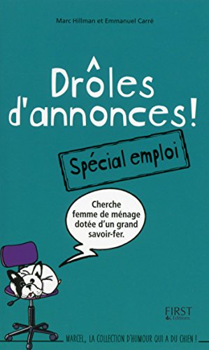 Droles D Annonces Special Emploi Marcel French Edition