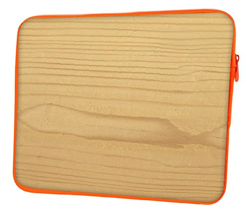 Snoogg Textura Lautsprecherkabel de Madera Designer, 43,2cm Zoll auf 44,5cm Zoll zu 44,7cm Zoll Laptop Notebook Schuber Sleeve Soft Case, der Fall für MacBook Pro Acer Asus Dell HP Sony Toshiba
